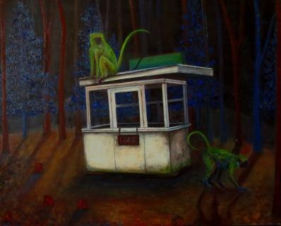 Close n°2, huile sur toile, 40x50 cm, 2014 (collection privée)