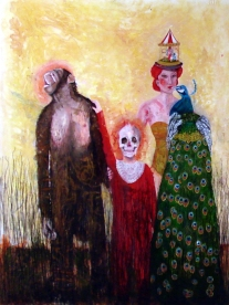 Le portrait de famille, huile sur toile, 175x145 cm, 2010 (collection privée)