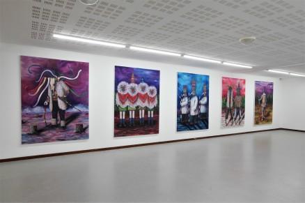 Exposition Mondfänger, Kunstverein Bitcherland Artopie, 2016