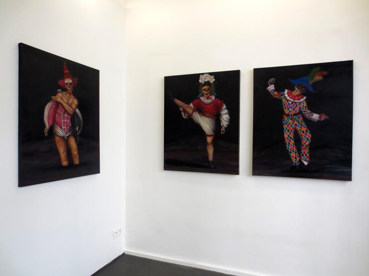 Night merry-go-round, galerie Maïa Muller, Paris, 2014