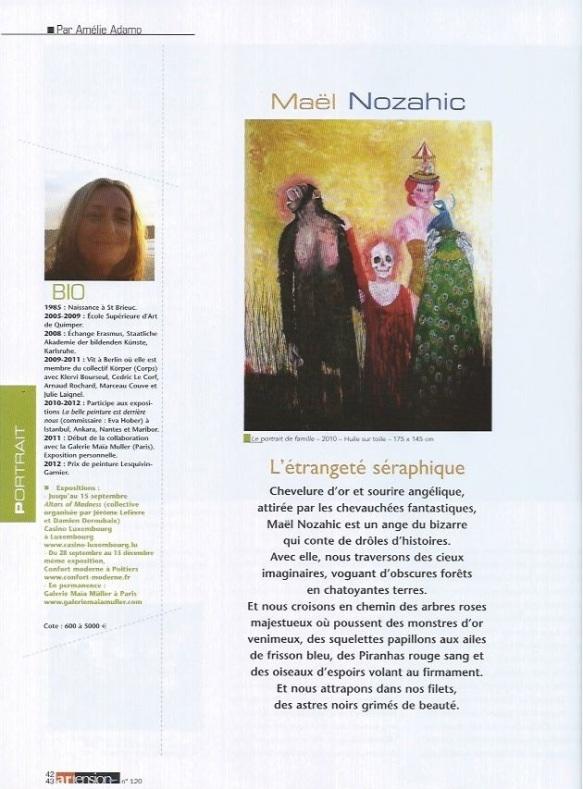Atension n°120, article d'Amélie Adamo