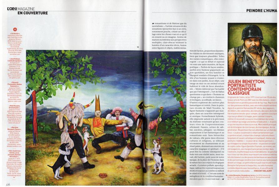 L'oeil (n° 709), article d'Amélie Adamo