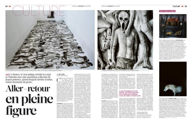 Libération (pages culture du 25 avril 2012), article d'Éric Loret